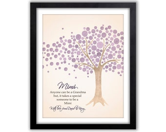 Mothers Day Gift, Gift For Mimi - Personalized Gift For Grandma - Gift From Grandchildren - Mimi Gift - Mimi Sign