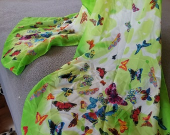 Fly Away Butterfly Shawl
