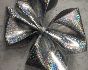 Handmade Holographic Big Boutique Bow