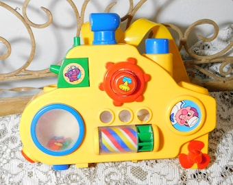 Bath Toy Splash and Play Discovery Toys, Bath, Tub Toy, Toys,Vintage Toys,  Suction Cups to Hang on Tub