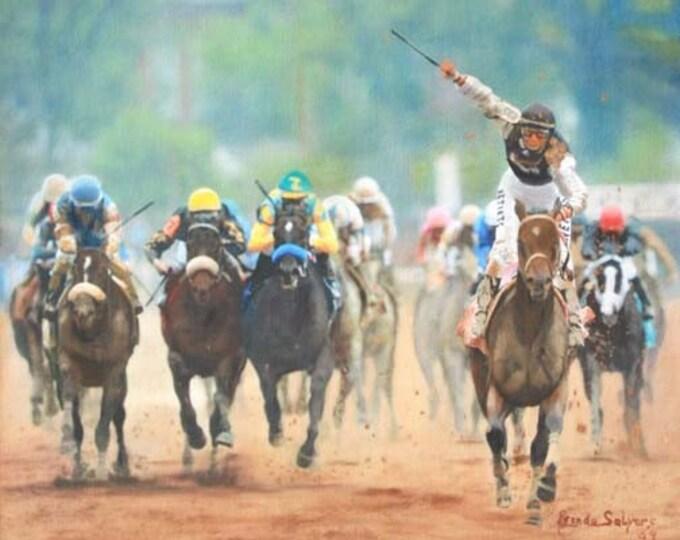 Kentucky Derby Winner Mine that Bird Giclee Print on Fine Art Paper or Canvas