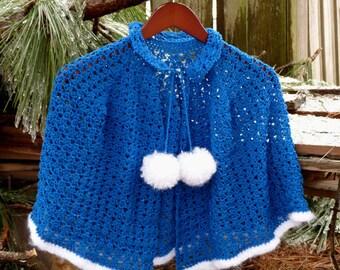 Winter Wonderland Capelet - PDF Crochet Pattern - Instant Download