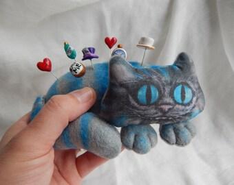Cheshire Cat Pin Cushion
