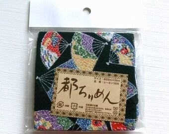 Chirimen - Folding fan - 23cm x 33cm