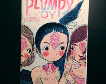 PLUMPY OY new comic/zine by Benjamin Sea Constantine