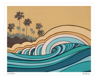 Surfrider I - Art Print