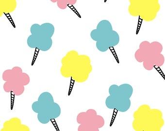 Cotton Candy Print, Digital Download, Printable, 12x12