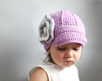 Christmas hat, Toddler Winter Hat - Newsboy Toddler Hat, Toddler hat, Baby hat - Winter Hat for toddlers, Toddle Girl