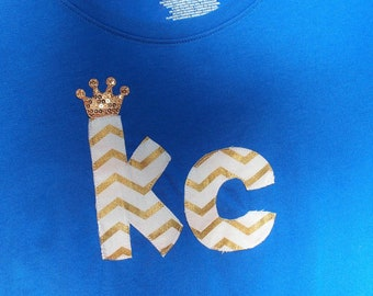 KC Kansas City Royals Tee~Women