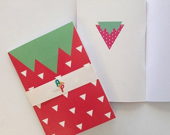 Strawberry A5 Notebook: Blank or Lined