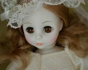 "Horsman Yvonne Doll 13"" tall"