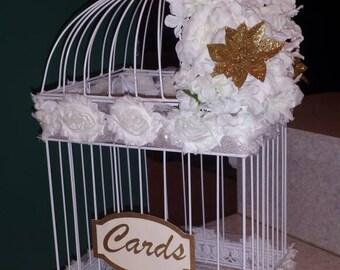Custom Bird Cage Card box
