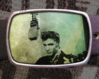 Elvis Belt Buckle, Vintage Inspired 553, Gift for Him, Gift for Her, Husband  Gift, Wife  Gift Groomsmen Wedding