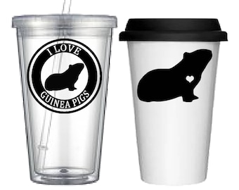 Cup:Guinea Pig(4 designs to choose from!)