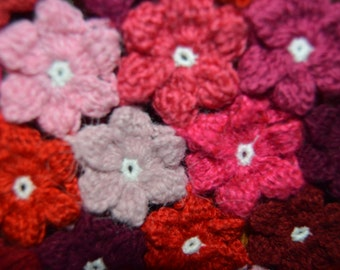 Newborn Crochet  - Floral Baby Blanket - Baby shower gift