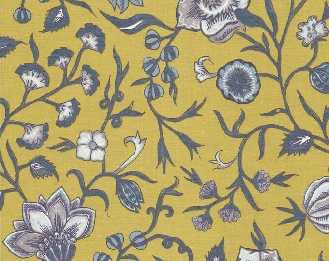 Dutch Chintz - Wilhelmina Yellow Mauve