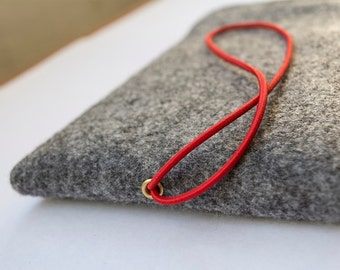 Apple Macbook Pro 13 inch felt wool sleeve