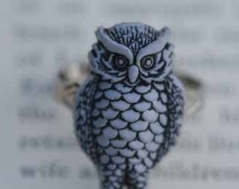 Hedwig The Owl Ring