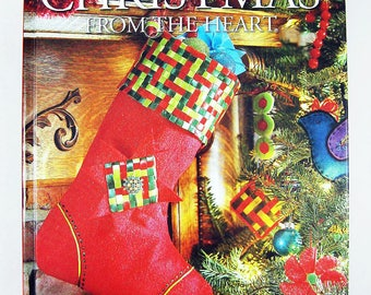 BH&G Christmas from the Heart Vol 15, holiday book, DIY papercraft, needlework, party ideas