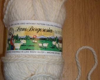 Vintage Lane Borgosesia 100% Virgin Wool Bulky Yarn 100 Gram Dial 1850 Knitusa