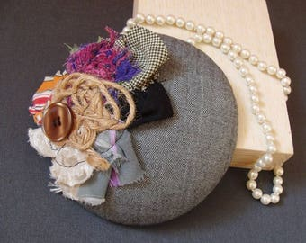 fascinator with a touch of artistry