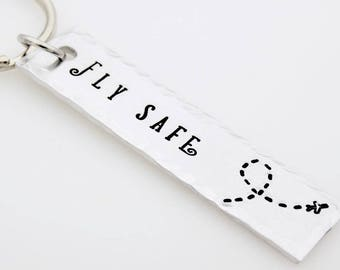 Pilot Gift, Fly safe, gift for flight attendant, Frequent Flier, airplane, Flight School, Flight training, gift for flight staff airline