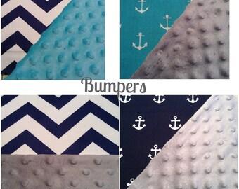 CRIB BUMPER SET/5 Designs