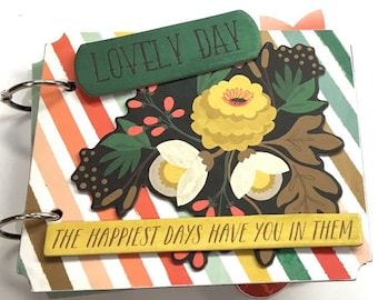 Pre-made Lovely Day Mini Book