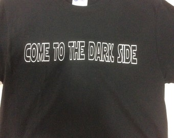 Come to the dark side, we have cookies adult shirt