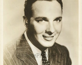 Bob Crosby jazz orchestra leader antique music photo