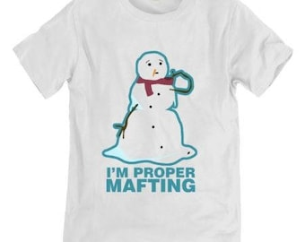 Proper Mafting  T-shirt  -  Hull Culture supporting Shine Relief Trust