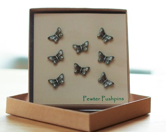Butterfly Pushpins For Your Corkboard