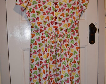1940s Style Disney Fruits Dress