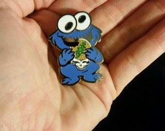Cookie Monster Hat Pin