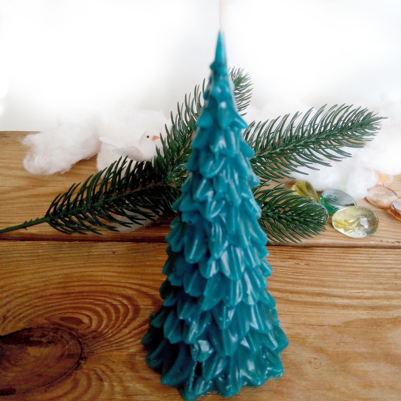 Weihnachts-Geschenk-Wald-Weihnachten-Dekor Fichte Kerze