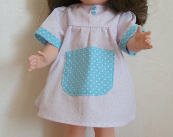 DRESS apron 39 to 40 cm doll