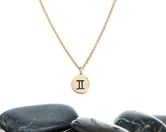 Tiny Zodiac Charm Necklace