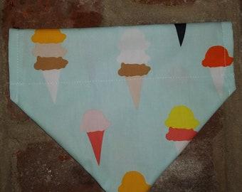 Ice Cream Dog Bandana