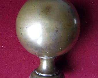 Bronze stair ball or ball ramp. 19th century.