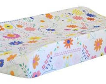 Changing Pad Cover | Floral Wildflower