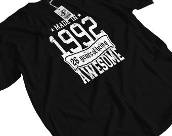 Made in 1992 - 26 years of Being Awesome T-Shirt