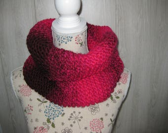 snood neck scarf for woman