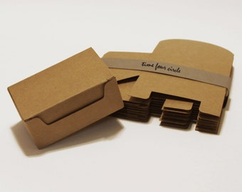 Set of 50, Kraft Gift Box, Favor, Gift, Party