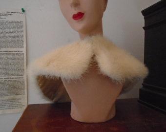 Vintage Genuine Fur Collar