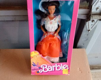 Mattel Dolls of the World Mexican Barbie Doll