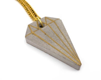 Concrete Jewel Necklace