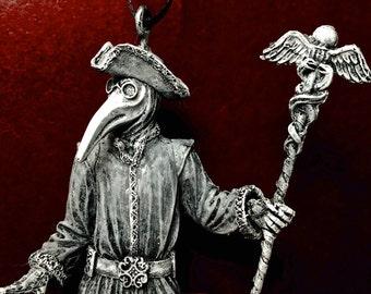 Venetian Plague Doctor Ornament