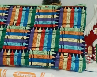 Crayon case/ Make Up Bag/ Sandwich Bag