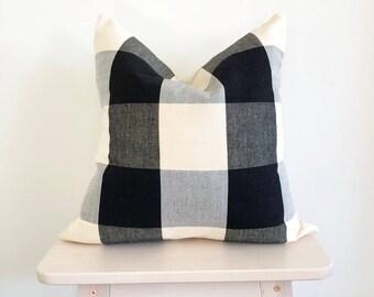 Buffalo | Cotton Buffalo Check Pillow