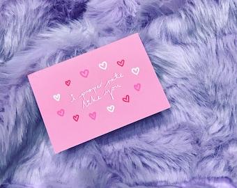 I Proper Rate Like You - Valentine's Card